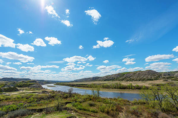 Photograph - The Red Deer River Valley by Philip Rispin