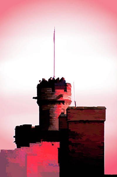 Photograph - The Red Keep by Scott Lyons