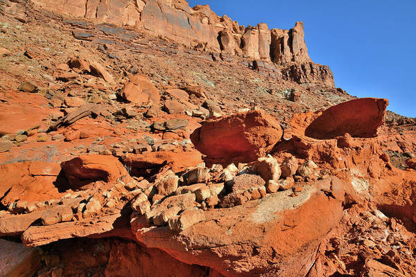 Photograph - The Red Rock North Of Moab Utah by Ray Mathis