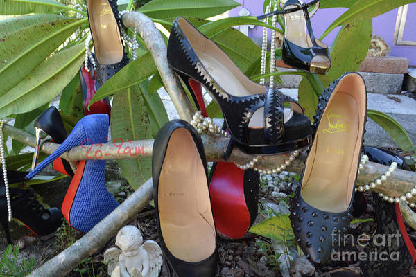 Wall Art - Photograph - The Red Sole Shoes 4 by To-Tam Gerwe
