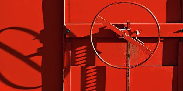 Photograph - The Red Wheel by Tatiana Travelways