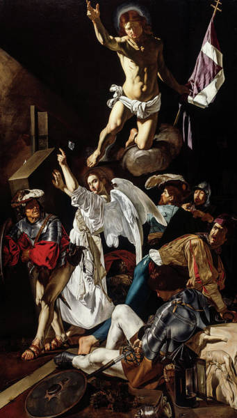 Wall Art - Painting - The Resurrection, 1620 by Cecco del Caravaggio