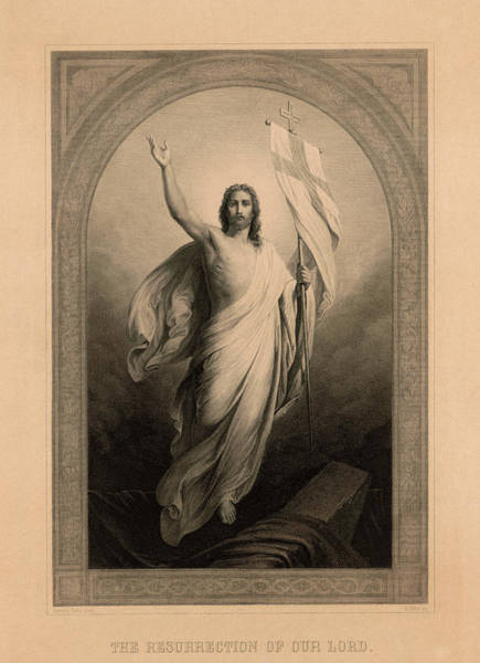 Wall Art - Painting - The Resurrection Of Our Lord by Heinrich Merz