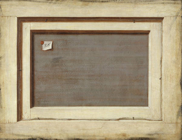 Reverse Wall Art - Painting - The Reverse Of A Framed Painting by Cornelius Nobertus Gijsbrechts