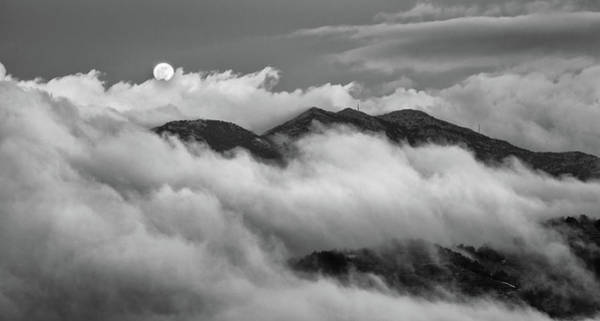 Scenery Wall Art - Photograph - The Rising Of Full Moon by Michalakis Ppalis