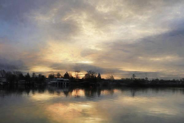 Wall Art - Mixed Media - The River Awakens by Lori Deiter
