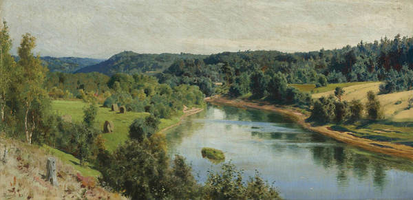 Painting - The River Oyat by Vasily Polenov