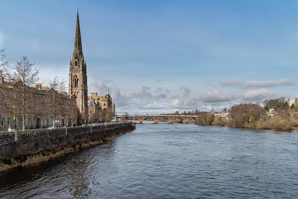 Photograph - The River Tay In Perth by Ross G Strachan