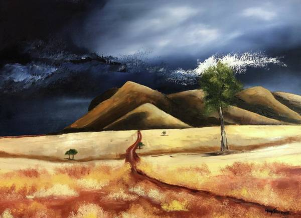 Painting - The Road Forward by Mary Rimmell