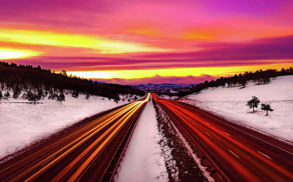 Photograph - The Road Goes On Forever by Gary Kochel
