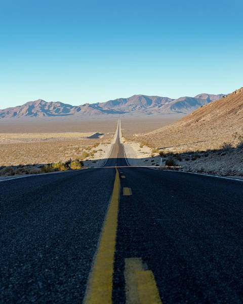 Photograph - The Road To Death Valley by William Dickman