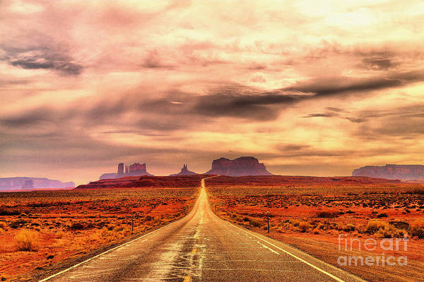 Swan Valley Photograph - The Road To Monument Valley by Jeff Swan