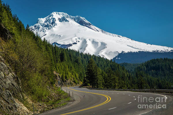 Photograph - The Road To Mt. Hood by Jon Burch Photography
