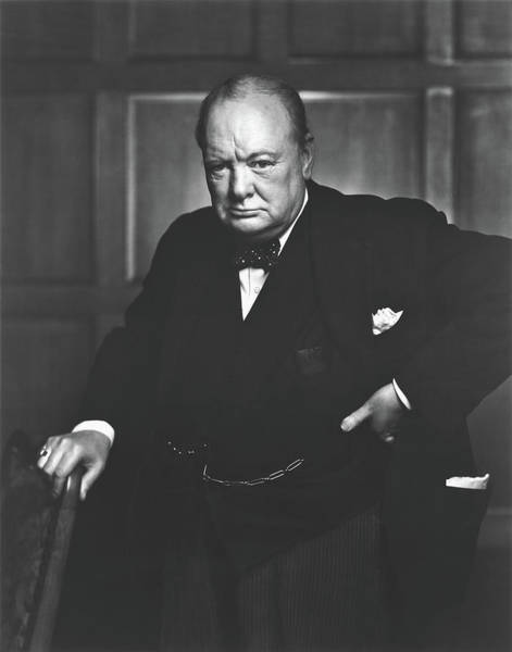 Wall Art - Photograph - The Roaring Lion - Winston Churchill 1941 by Library Of Congress