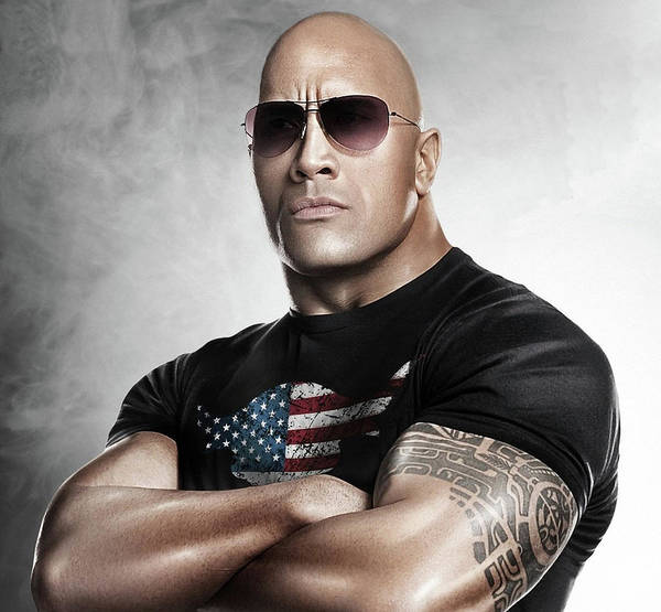 Photograph - The Rock Dwayne Johnson I I by Movie Poster Prints