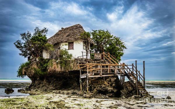Photograph - The Rock, Zanzibar  by Lyl Dil Creations