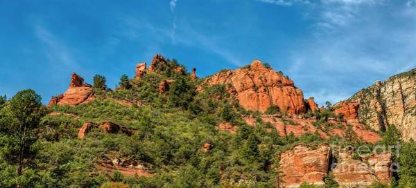 Photograph - The Rocks In Slide Rock State Park by Jon Burch Photography