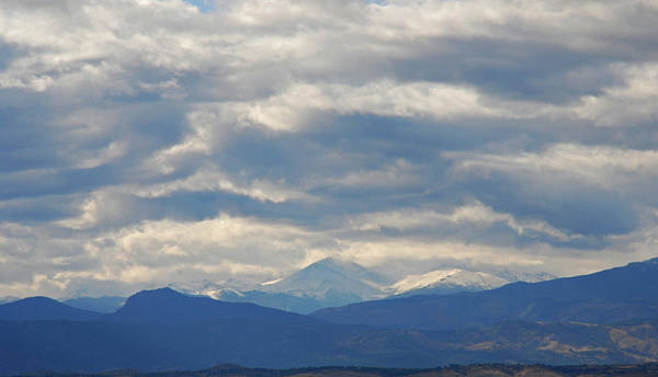 Photograph - The Rocky Mountains by Angie Tirado