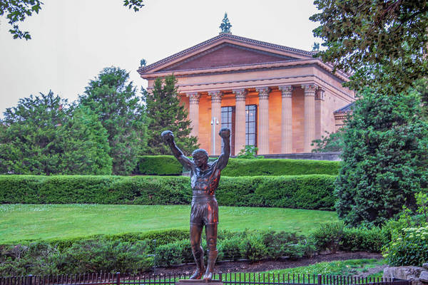 Wall Art - Photograph - The Rocky Statue - Philadelphia Pa by Bill Cannon