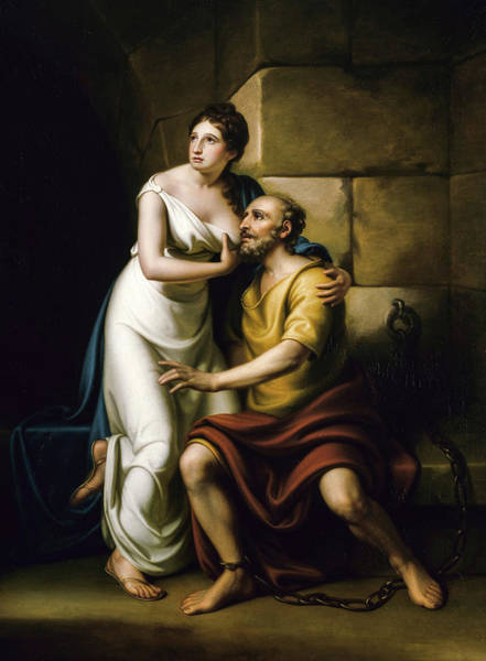 Wall Art - Painting - The Roman Daughter, 1811 by Rembrandt Peale
