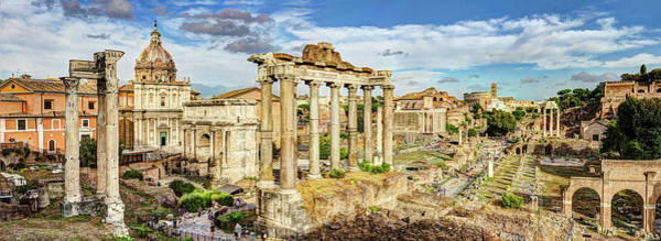 Photograph - The Roman Forum 2 by Weston Westmoreland