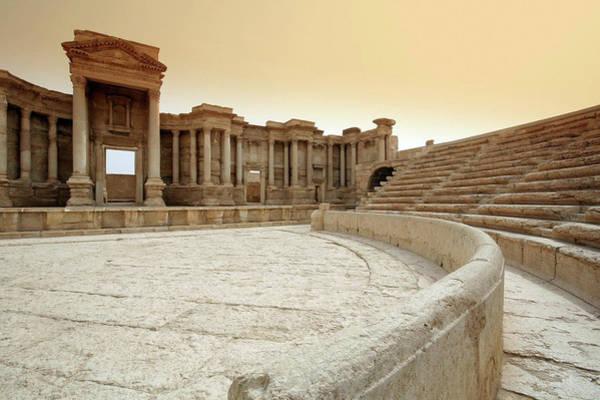 Auditorium Photograph - The Roman Theatre, Palmyra by Joe & Clair Carnegie / Libyan Soup