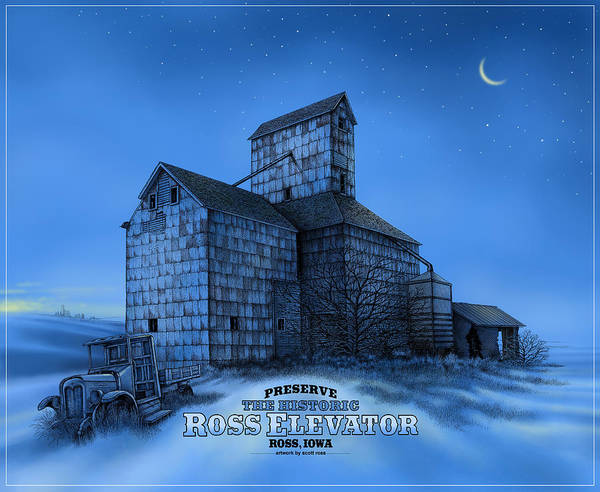The Ross Elevator Version 3 Art Print
