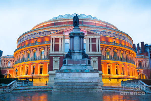 Wall Art - Photograph - The Royal Albert Hall, Opera Theater by Alice-photo