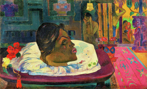 Wall Art - Painting - The Royal End - Digital Remastered Edition by Paul Gauguin