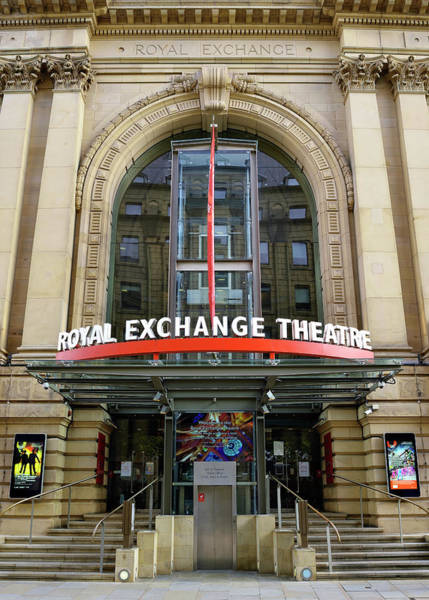Greater Manchester Wall Art - Photograph - The Royal Exchange Theatre Manchester England United Kingdom by imageBROKER - Simon Belcher