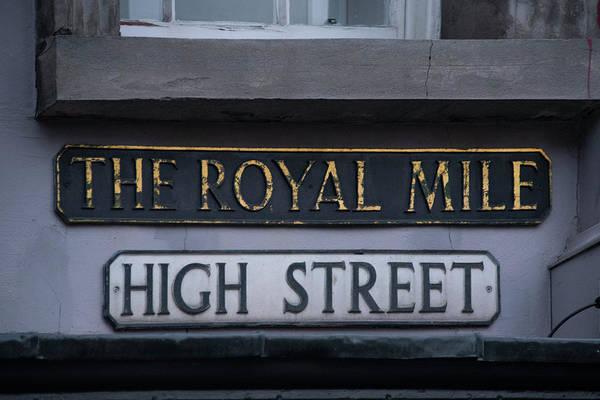 Wall Art - Photograph - The Royal Mile - High Street - Edinburgh by Bill Cannon