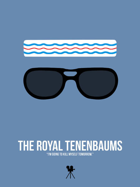 Wall Art - Digital Art - The Royal Tenenbaums I by Naxart Studio