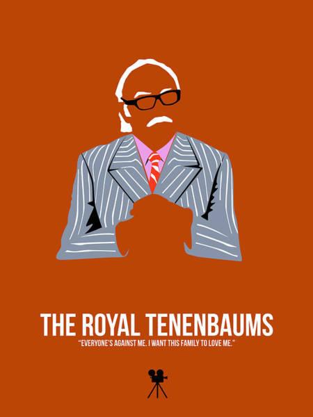 Wall Art - Digital Art - The Royal Tenenbaums by Naxart Studio
