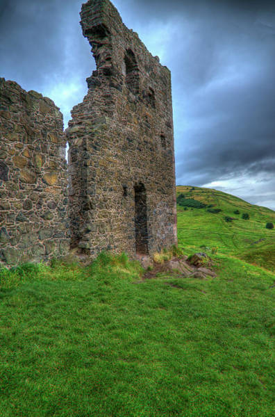 Holyrood Photograph - The Ruined St Anthony's Chapel by Teuni Teunissen