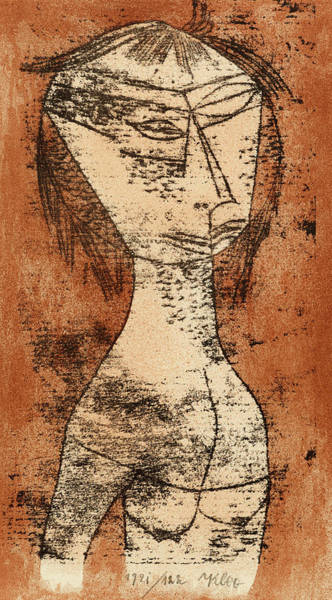 Wall Art - Painting - The Saint Of The Inner Light, 1921 by Paul Klee
