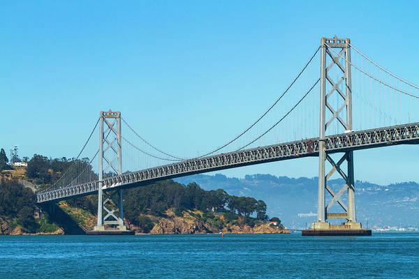 Photograph - The San Francisco Bay Bridge by Bonnie Follett