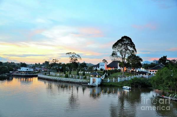 Photograph - The Sarawak Astana Governor Palace Mansion On Sarawak Riverwaterfront Kuching East Malaysia by Imran Ahmed