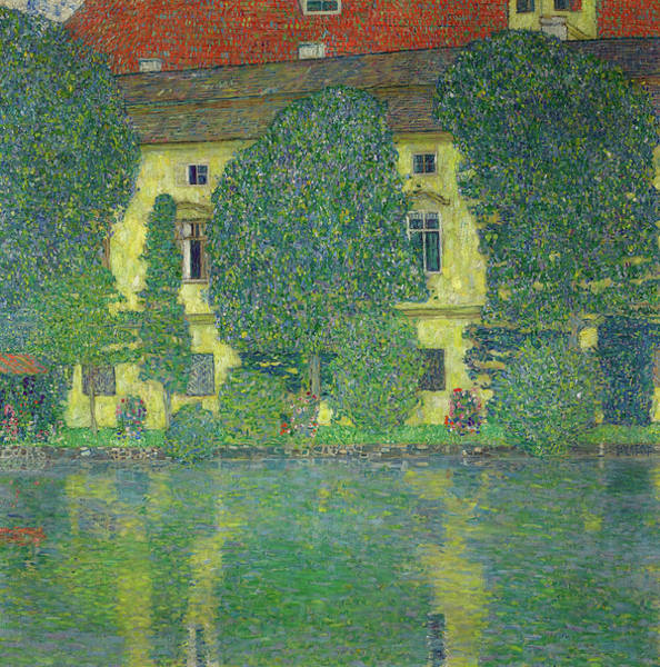 Wall Art - Painting - The Schloss Kammer On The Attersee, 1910 by Gustav Klimt