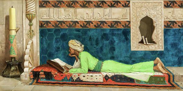 Wall Art - Painting - The Scholar, 19th Century by Osman Hamdi Bey