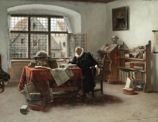 Research Painting - The Scholar by Max Gaisser