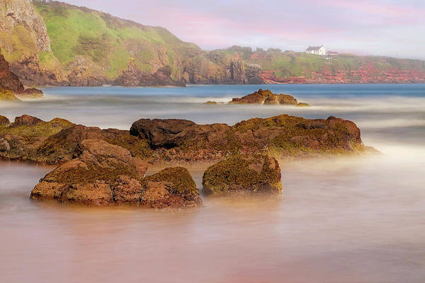 Photograph - The Sea Fog Of St Cyrus - Scotland - Rock Hall Fishing Station by Jason Politte