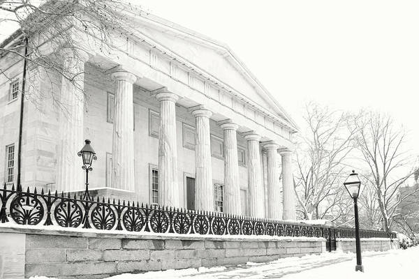 Greek Revival Architecture Photograph - The Second Bank by Lori Deiter