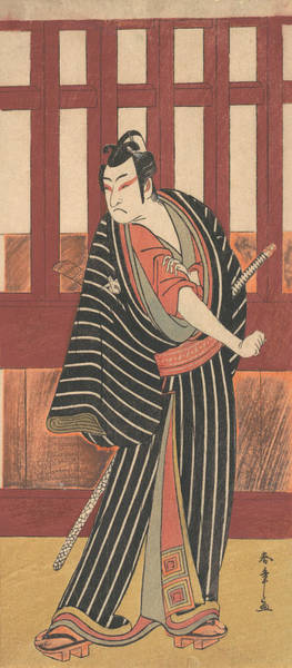 Relief - The Second Ishikawa Monosuke In The Role Of Karigane Bunshichi by Katsukawa Shunsho
