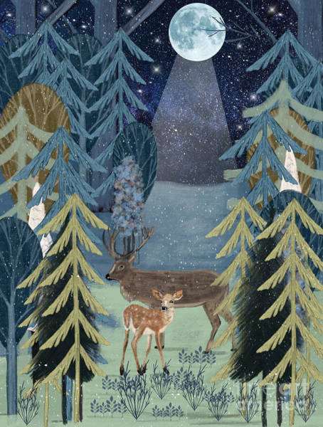 Wall Art - Painting - The Secret Forest by Bri Buckley