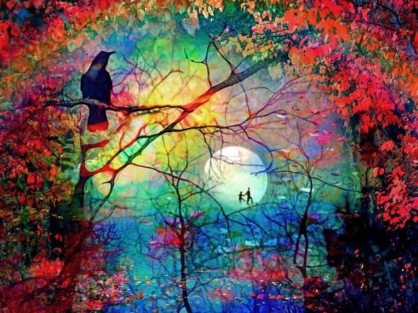 Digital Art - The Secret Path Of Night by Tara Turner