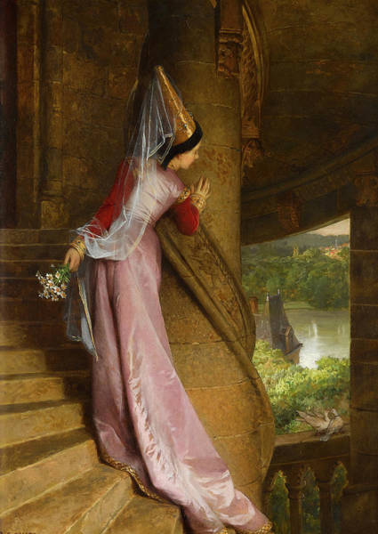 Comte Wall Art - Painting - The Secret Rendezvous by Pierre-Charles Comte