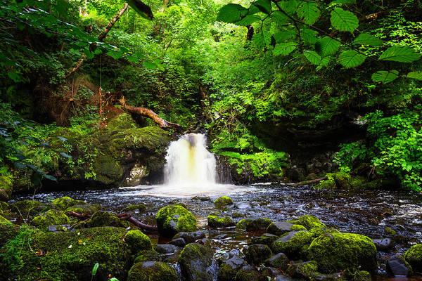 Photograph - The Secret Waterfall by Debra and Dave Vanderlaan