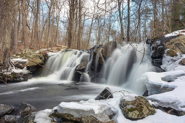 Photograph - The Secret Waterfall - Thawing by Brian Hale