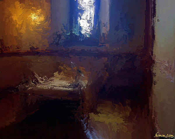 Digital Art - The Servant's Room by Rein Nomm