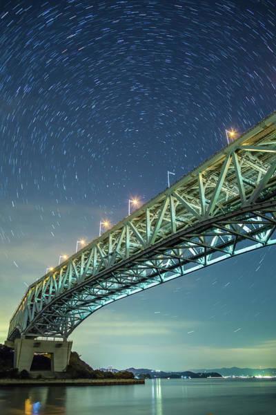 Okayama Prefecture Photograph - The Seto Ohashi Bridge by Tdubphoto